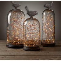 100 Warm White Starry LED Copper Wire Battery String Lights with