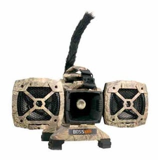 Primos 3757 primos electronic caller boss dogg predator w/100 sounds