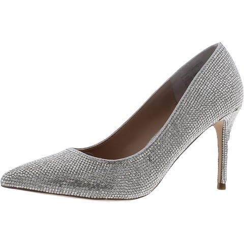 Steve Madden Womens Attract Dress Heels Padded Insole