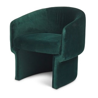 Silver Orchid Lyell Velvet Accent Chair