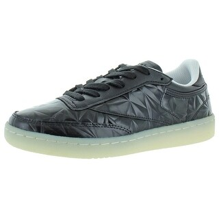 Link to Reebok Womens Club C 85 Hype Metallic Sneakers Leather Classic - Black/White Similar Items in Women's Shoes