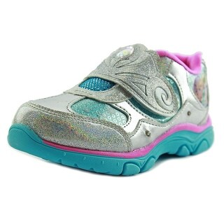 Disney Frozen Youth Round Toe Synthetic Silver Sneakers
