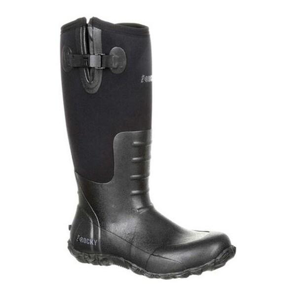 d5824ed2d8e Shop Rocky Men's Core Rubber Waterproof Outdoor Boot RKS0351 Black ...