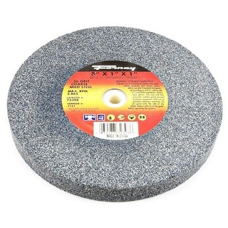"""Forney 72398 Bench Grinding Wheel, Coarse 36 Grit, 8"""" X 1"""" X 1"""""""