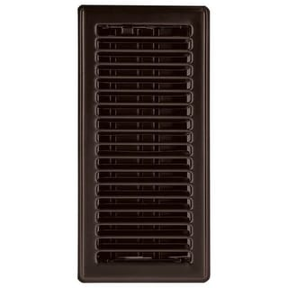 "Imperial RG3303 Louvered Design Floor Register, 4"" x 12"""
