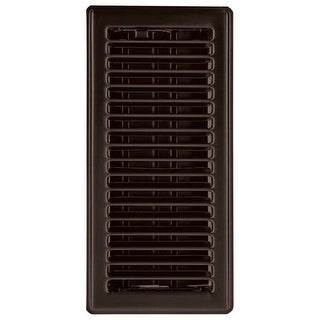 "Imperial RG3303 Louvered Design Floor Register, 4"" x 12"""