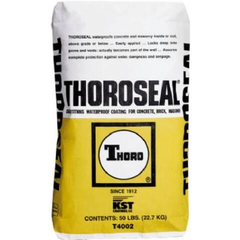 Thoro T4002 Thoroseal Cement Waterproofing, White, 50 LB