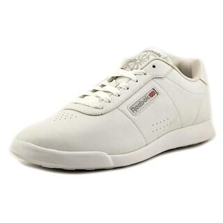 Reebok Princess Lite Women  Round Toe Leather White Sneakers