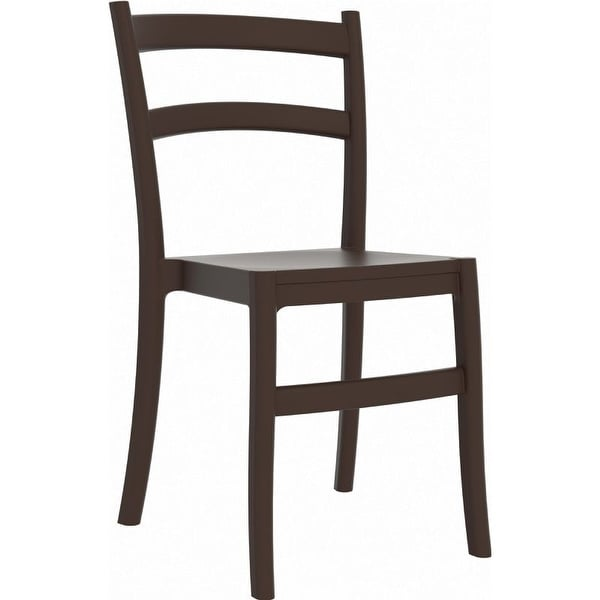 Compamia Tiffany Outdoor Dining Chair Set of 2 - Brown