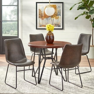 Link to Simple Living Shane 5-Piece Dining Set Similar Items in Dining Room & Bar Furniture