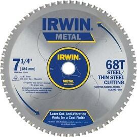 """Irwin 7-1/4"""" 68T Ferrous Blade"""