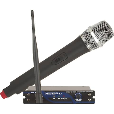 Single Channel Uhf Wireless Mic System, Frequency: M