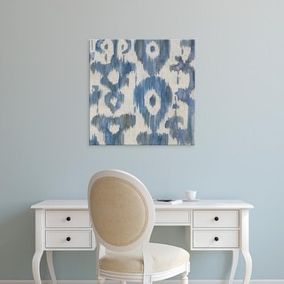 Easy Art Prints Chariklia Zarris's 'Water Ikat II' Premium Canvas Art