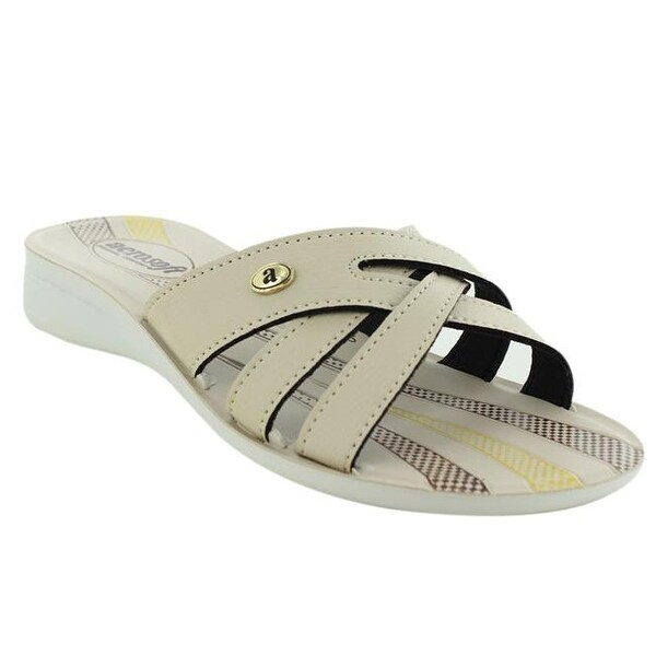 21107a213433 Shop Aerosoft Footwear Gladiator Women Sandals - Cream