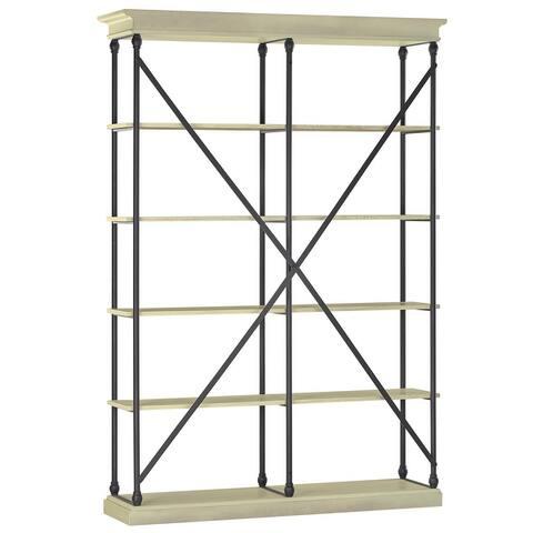 Barnstone Cornice Double Shelving Bookcase by iNSPIRE Q Artisan