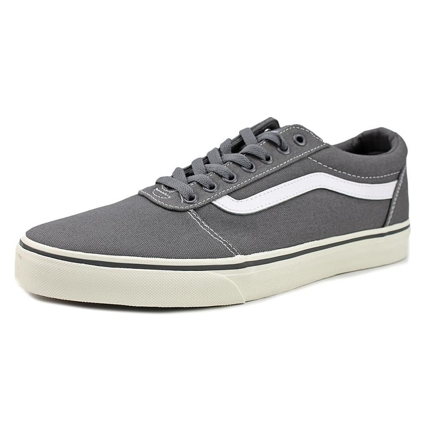 0395b1aa079 Shop Vans Ward Men Round Toe Canvas Gray Skate Shoe - Free Shipping ...