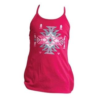 Roper Western Shirt Girls Sleeveless Tank Top Pink 03-009-0513-2007 RE