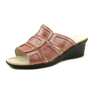 Propet Sorrento   Open Toe Leather  Wedge Sandal