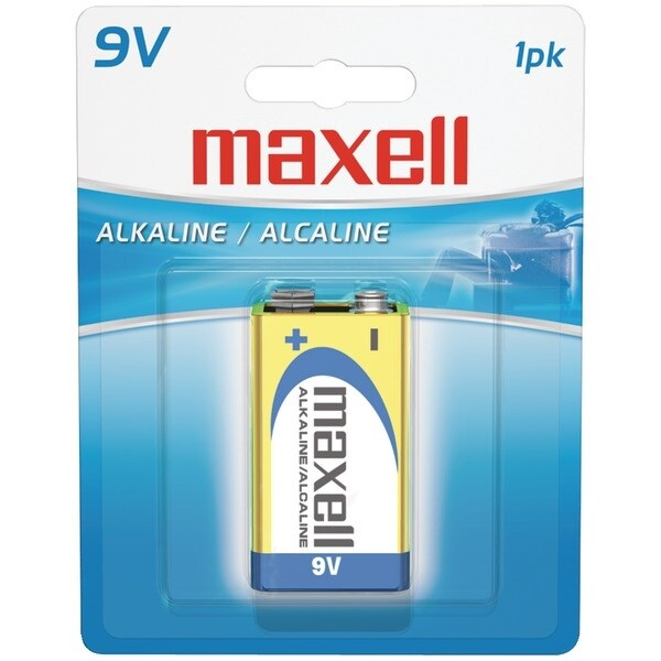 Maxell 721110 - 6Lf221Bp Alkaline Batteries (9V; Single)