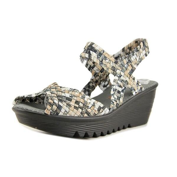 Bernie Mev. Fame Women Open Toe Canvas Platform Sandal
