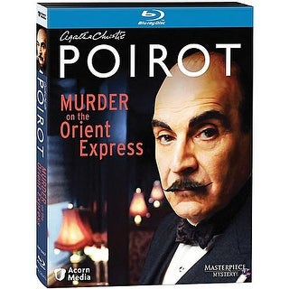 Agatha Christie's Poirot: Murder On The Orient Express Blu-Ray