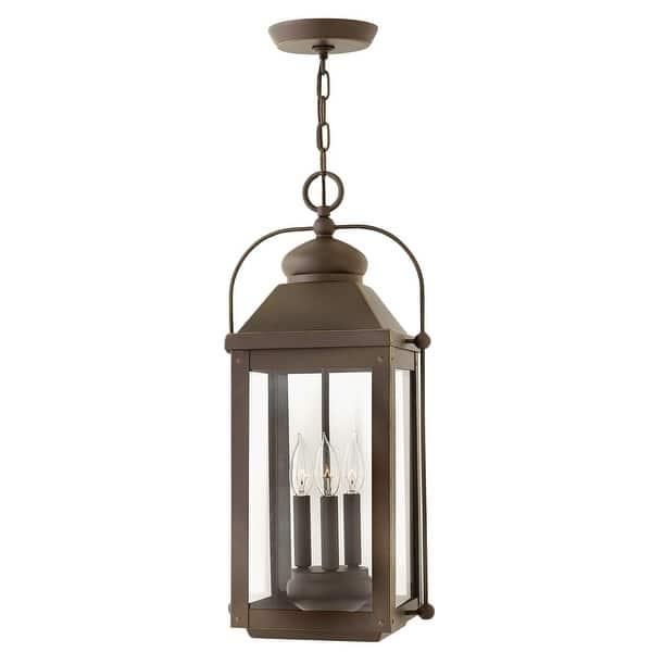 Hinkley Lighting 1852 Ll Anchorage 3 Light 11 Wide