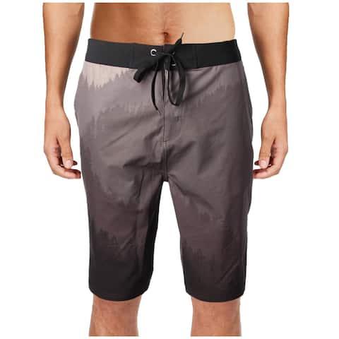 tentree Mens Tobin Summer Beach Board Shorts