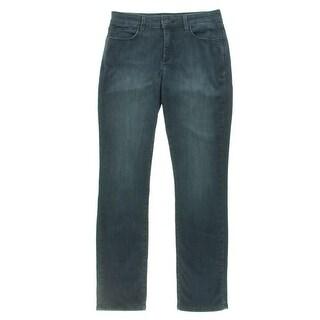 NYDJ Womens Skinny Jeans Slimming Mid-Rise