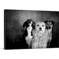 Claudio Vicente Premium Thick-Wrap Canvas entitled Project Lives On Hold - Multi-color