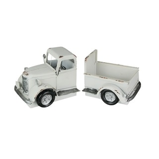 Link to Vintage Pickup Truck Distressed Finish Metal Bookends Front and Back Similar Items in Desk Accessories