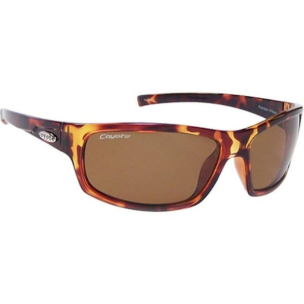 ef6a33d4efa Shop Coyote Eyewear Razor Tortoise Brown - US One Size (Size None ...