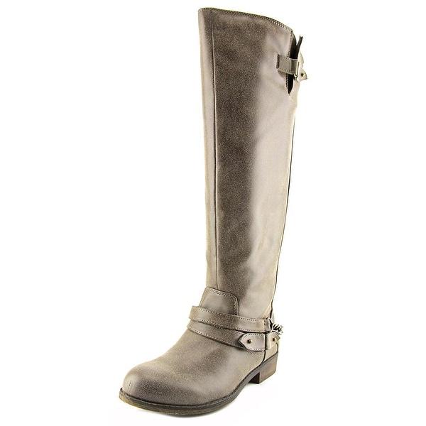 228de5ea3f7 Madden Girl Caanyon Wide Calf Women Round Toe Synthetic Knee High Boot