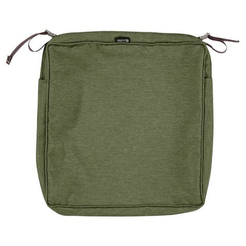 Classic Accessories Montlake Water-resistant Seat Cushion Slip Cover