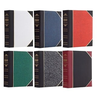 Pioneer 4x6 200-Pocket Photo Album w/ Memo Strips (Color May Vary)