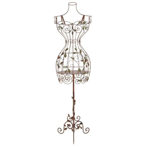 Aspire Home Accents 65708 Tall Iron Dress Form Mannequin
