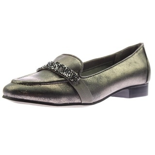 Naturalizer Womens Keeper Embellished Loafers