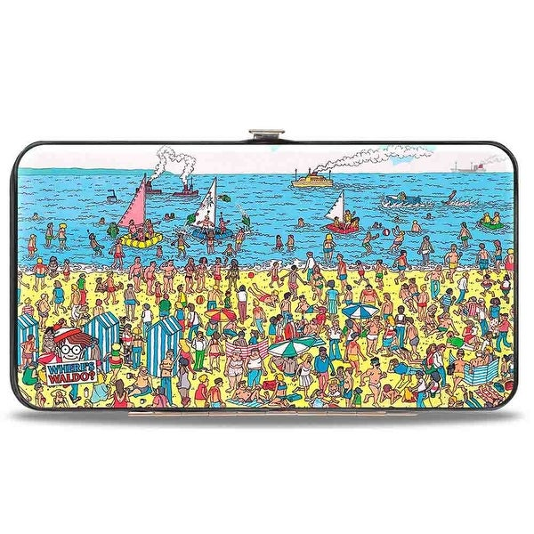 Where's Waldo? On The Beach Hinged Wallet - One Size Fits most