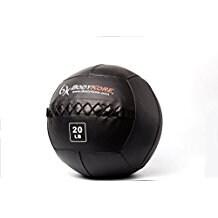 "BodyKore Premium Wall Ball- Double Stitched Industrial Vinyl- Durable- Medicine Ball- WOD- 14"" Diameter- 20lb"