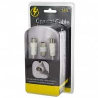 Bulk Buys OS391-32 Audio & Video Coaxial Cable Set - 32 Piece