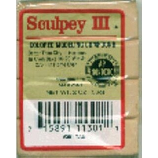 Tan - Sculpey Iii Polymer Clay 2Oz
