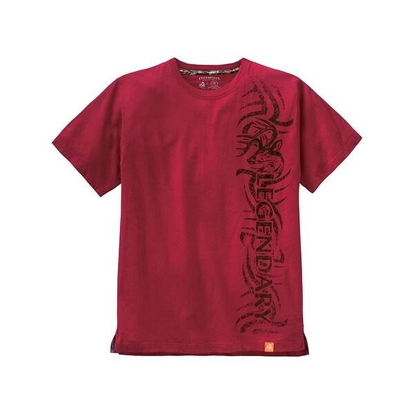 Legendary Whitetails Tribal Buck Short Sleeve T-Shirt