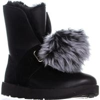 UGG Isley Waterproof Winter Boots, Black