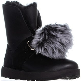 UGG Isley Waterproof Winter Boots, Black
