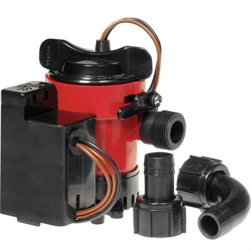 Cartridge Combo Bilge Pump 750Gph, 12V