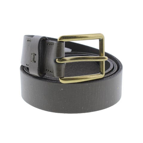 Tommy Hilfiger Mens Casual Belt Leather Textured