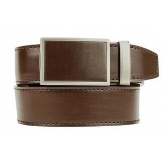 Nexbelt Fast Eddie Espresso Smooth Leather Ratchet Golf Belt
