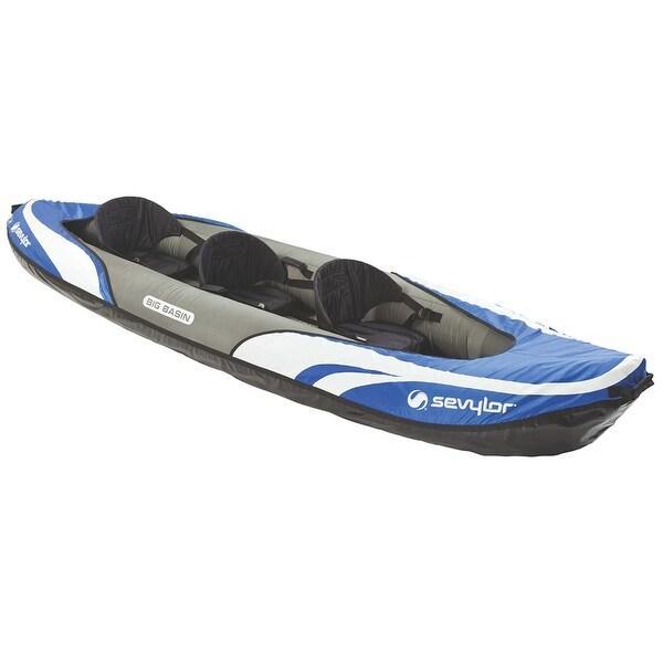 Sevylor big basin 3 person inflatable kayak 2000014131