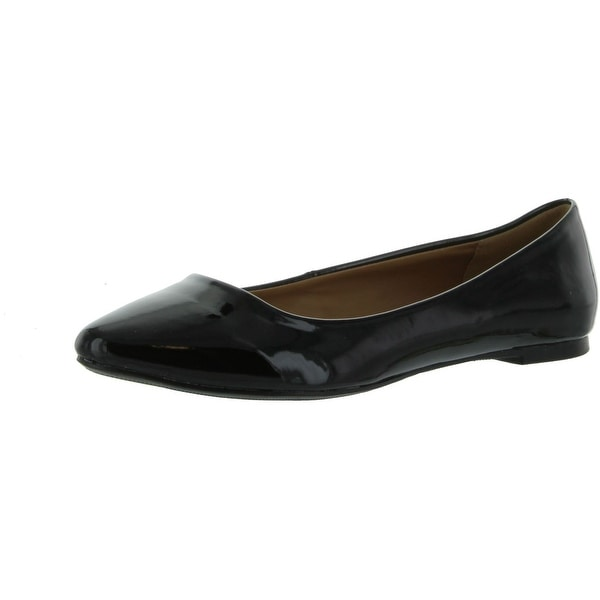 City Classified Womens Sadler-S Flats Shoes
