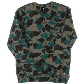 Element Mens Printed Pocket Crew Sweatshirt - L