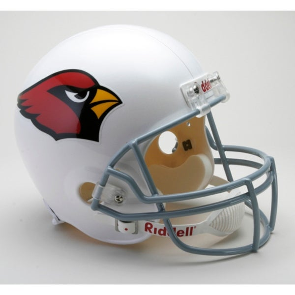 2b3556d6a Shop Arizona Cardinals Riddell Deluxe Replica Helmet - Free Shipping Today  - Overstock.com - 22202905